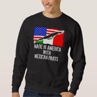 メキシコ部品が付いているアメリカで作られる スウェットシャツ