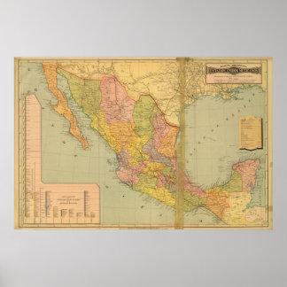 メキシコ鉄道 ポスター