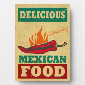 メキシコ食糧 フォトプラーク