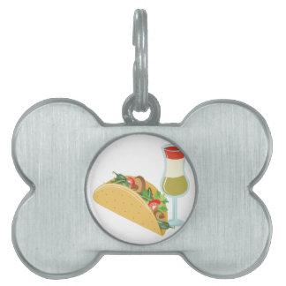 メキシコ食糧 ペットネームタグ