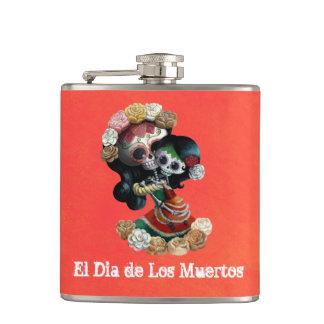 メキシコ骨組母親らしい愛 フラスク