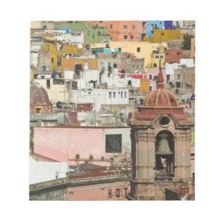 メキシコ、グアナフアト州の国家、グアナフアト州。 Templo de 2 ノートパッド