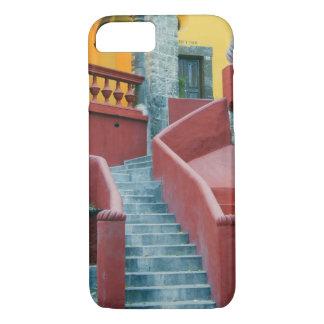 メキシコ、サン・ミゲルdeアジェンデのカラフル iPhone 8/7ケース