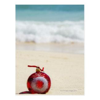 メキシコ、Playa del Carmenのクリスマスの装飾 ポストカード