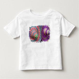メキシコ、Yucatan、編まれるメリダの伝統的 トドラーTシャツ