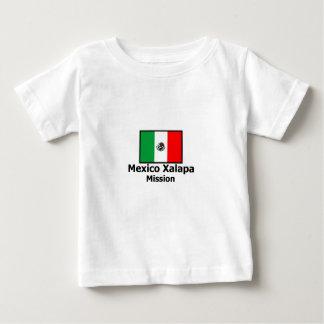 メキシコXalapa LDSの代表団のTシャツ ベビーTシャツ