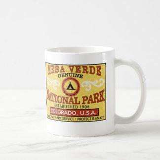 メサVerdeの国立公園 コーヒーマグカップ
