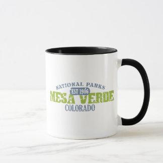 メサVerdeの国立公園 マグカップ