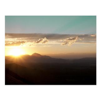 メサVerdeの日没 ポストカード