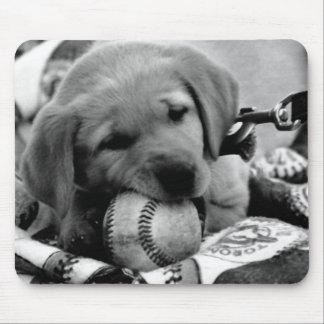 メジャーリーグの子犬のmousepad マウスパッド