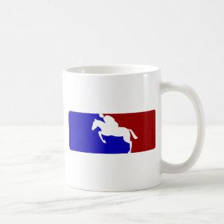 メジャーリーグの競馬 コーヒーマグカップ