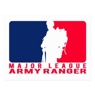 メジャーリーグの軍隊のレーンジャー ポストカード
