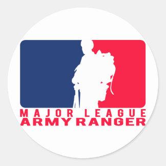 メジャーリーグの軍隊のレーンジャー ラウンドシール