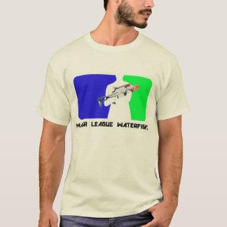 メジャーリーグのWaterfightのワイシャツ Tシャツ