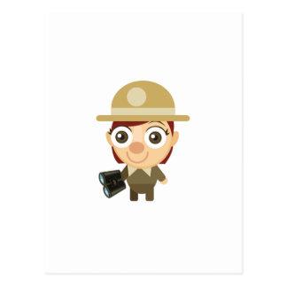 メスのレーンジャー-私の保存公園 ポストカード