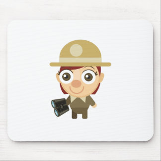 メスのレーンジャー-私の保存公園 マウスパッド