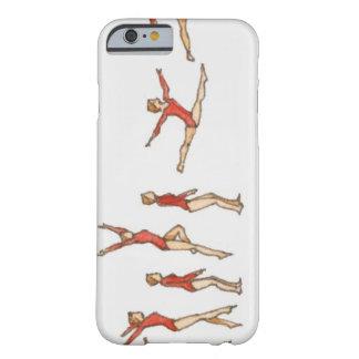 メスの体育専門家を示している絵の順序 BARELY THERE iPhone 6 ケース