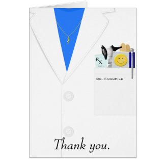 メスの医者サンキューカード カード