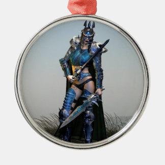 メスの戦士 メタルオーナメント