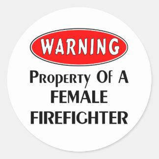 メスの消防士の特性 ラウンドシール
