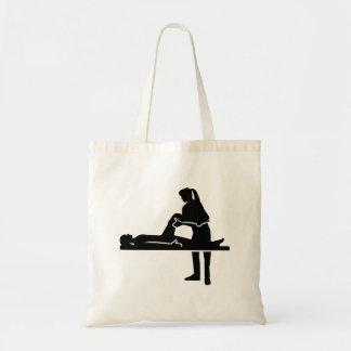 メスの物理療法家 トートバッグ