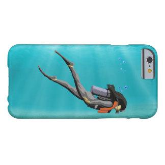 メスS.C.U.B.A.のダイバー BARELY THERE iPhone 6 ケース