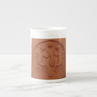 メソポタミアビールシールのマグ ボーンチャイナカップ
