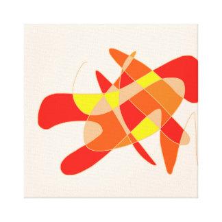 「メタドー」の抽象美術 キャンバスプリント