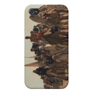 メッカ1861年に行っている巡礼者 iPhone 4 カバー