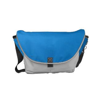 メッセンジャーバッグの輝きの贅沢で青いレザールック メッセンジャーバッグ