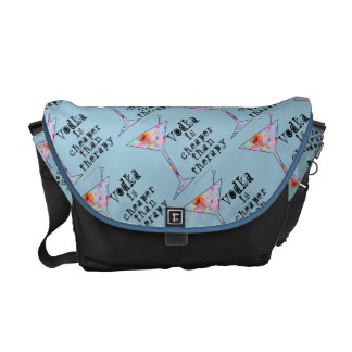 メッセンジャーバッグ-ウォッカはセラピーより安いです メッセンジャーバッグ