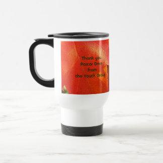 メッセージありがとう ステンレス製トラベルマグカップ