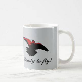 メッセージが付いているコーヒー・マグ ベーシックホワイトマグカップ