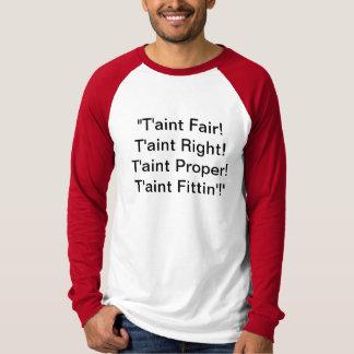 メッセージのTシャツのRaglan袖 Tシャツ