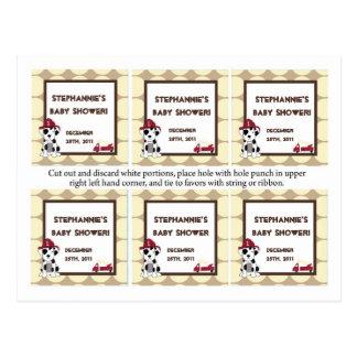 メッセージカードのNojoの消防車 ポストカード