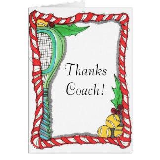 メッセージカード-キャンディ・ケーンのテニス カード