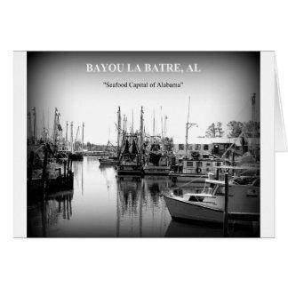 メッセージカード-バイユーのLA BATRE、アラバマ カード
