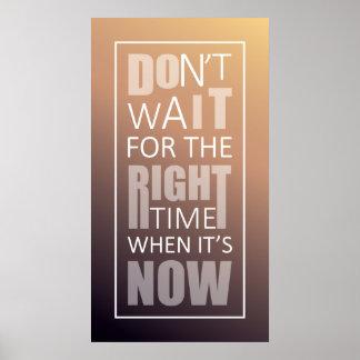 メッセージ内のメッセージ。 やる気を起こさせるな引用文の設計 ポスター