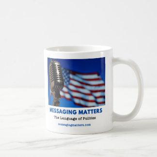 メッセージ|問題 コーヒーマグカップ