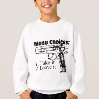 メニュー選択 スウェットシャツ