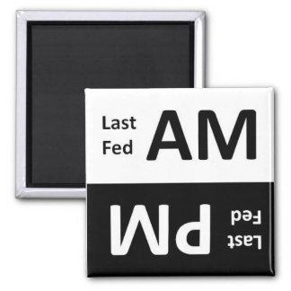 メモの磁石を食べ物を与えているAM/PMペット マグネット
