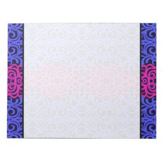 メモ帳のインドのスタイル ノートパッド