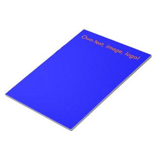 メモ帳のロイヤルブルー ノートパッド