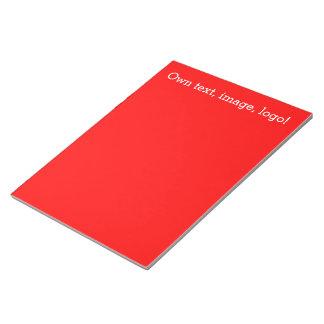 メモ帳の赤 ノートパッド