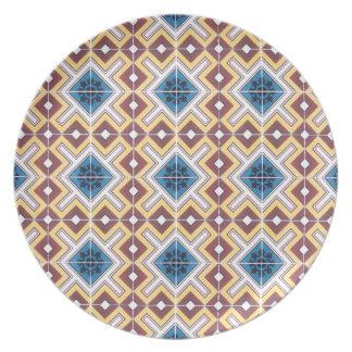 メラミンプレート-リスボン 皿