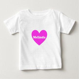 メリンダ ベビーTシャツ