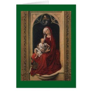 メリーおよびイエス・キリスト カード