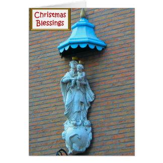 メリーおよび子供イエス・キリスト カード