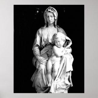 メリーおよび子供 ポスター