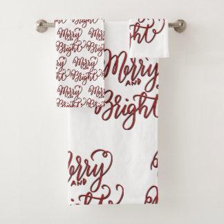 メリーおよび明るいです バスタオルセット